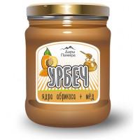 """""""Абримёд"""", сладкий урбеч (мёд+абрикосовые косточки), 230г"""
