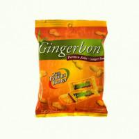 Имбирные конфеты жевательные с арахисовым маслом Gingerbon, 125г