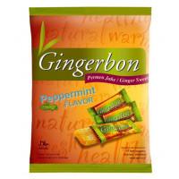 """Имбирные конфеты жевательные """"Gingerbon"""" мятные, 125г"""
