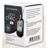 Тест-полоски селфи чек прим (Selfy Chec Prim) № 50