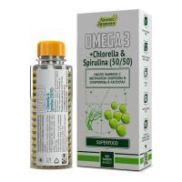 Масло льняное с экстрактом хлореллы и спирулины