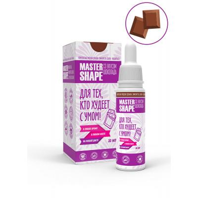 """Master Shape №25, жидкий сахарозаменитель со вкусом """"Шоколад"""", 30мл"""