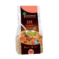 Суп итальянский с красной чечевицей и макаронами «Здороведа», 250г