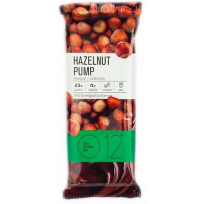 Вафельный протеиновый батончик фундук-шоколад, О12, 65 г