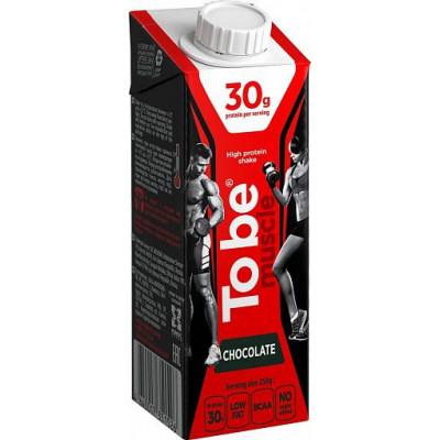 "Протеиновый коктейль молочный ""To Be Muscle"" шоколадный, To Be, 250 г"