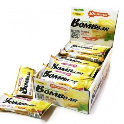 Протеиновый батончик Лимонный торт, Bombbar, 60 г