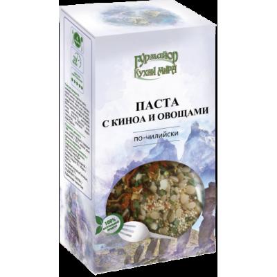 Паста с Киноа и Овощами по-чилийски КУХНИ МИРА, Гурмайор,210 г