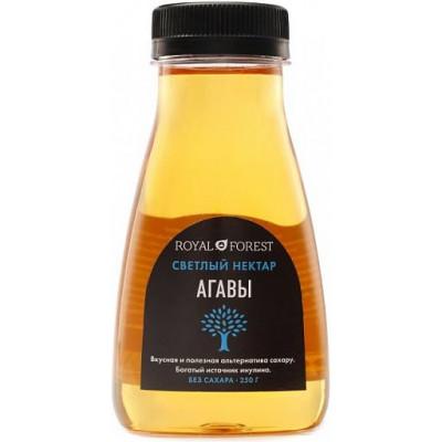 Сироп Агавы светлый без сахара, Royal Forest, 250 г