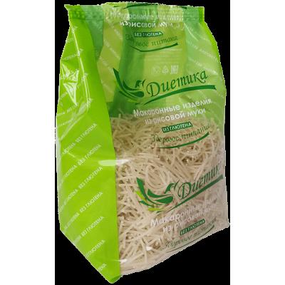 Рисовые макароны Вермишель, Диетика, 250 г