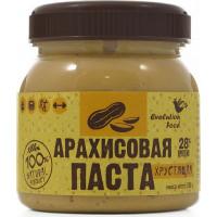 Арахисовая паста хрустящая натуральная, Evolution Food, 250 г