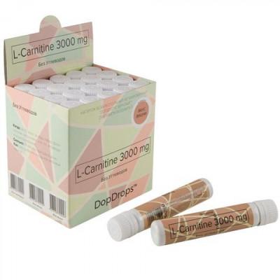 L-Carnitine 3000 мг Вишня, DopDrops, 25 мл
