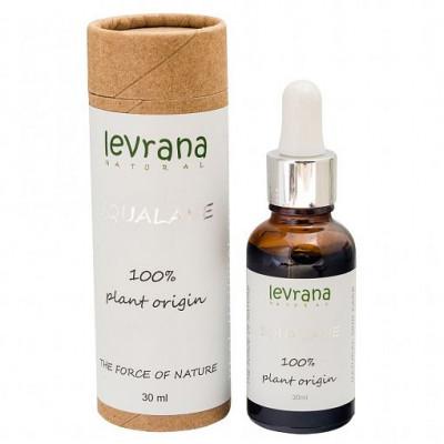 Сыворотка Squalane 100% натуральный растительный Сквалан, Levrana, 30 мл