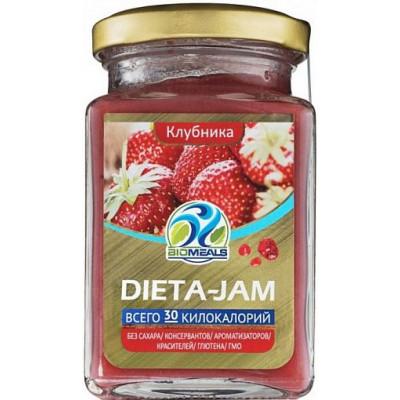 Джем Клубничный Dieta-Jam, 230 г