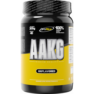 AAKG (без вкуса), OptiMeal, 200 г (40 порций)