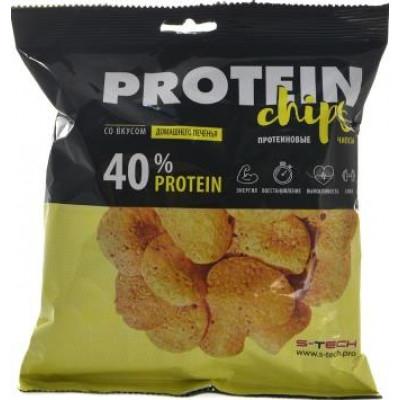 Протеиновые чипсы Домашнее печенье, S-Tech, 50 г