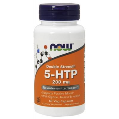5-НТР (с Глицином, Таурином и Инозитолом) NOW 200 мг, 60 капс.