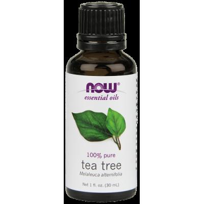 Чайное дерево (100% эфирное масло) NOW, 30 мл