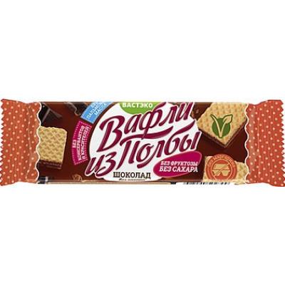 Вафли из полбы шоколад, без сахара, Вастэко, 15 г