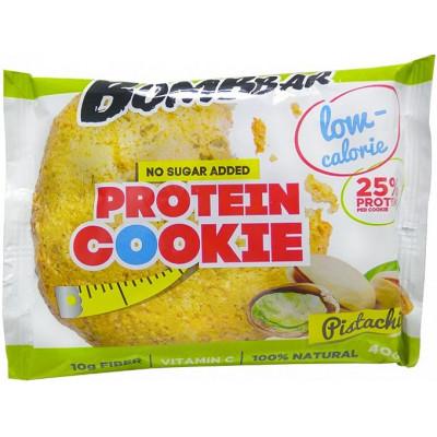 Печенье низкокалорийное протеиновое Фисташка, Bombbar, 40 г