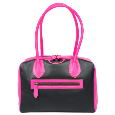 Женская сумка Vixen Elite Bowler Black/Pink (черный/розовый), 6 PackBags