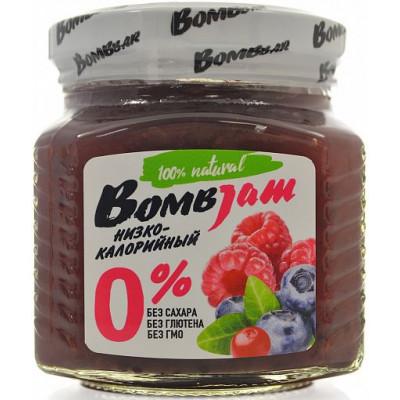 Джем низкокалорийный Лесная ягода, BombJam, 250 г