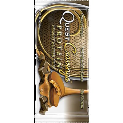 Конфеты Quest Cravings Peanut Butter Cups Халва в шоколаде, Quest Bar, 2*25 г