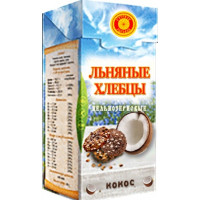 Хлебцы льняные Кокос, Тиавит, 80 г