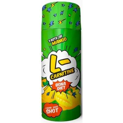 L-carnitine Liquid 3000 Shot Манго,Bona Diet, 60 г