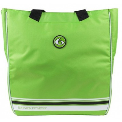 Женская сумка Camille Tote Lime/Black (лайм/черный), 6 Pack Fitness