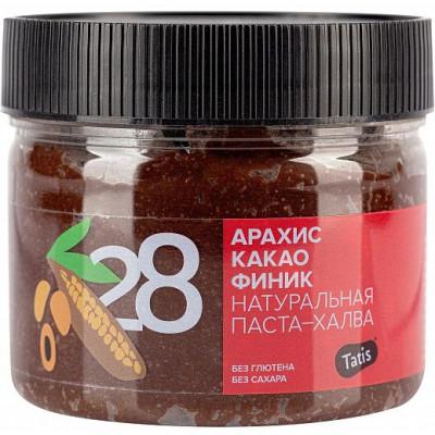 Паста арахисовая шоколадная (с финиковым сиропом и какао), Tatis, 300 г