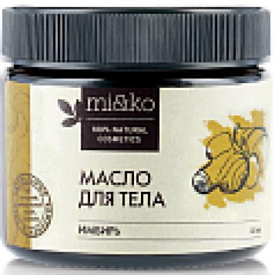 Масло для тела антицеллюлитное, разогревающее Имбирь, Mi&Ko, 60 мл