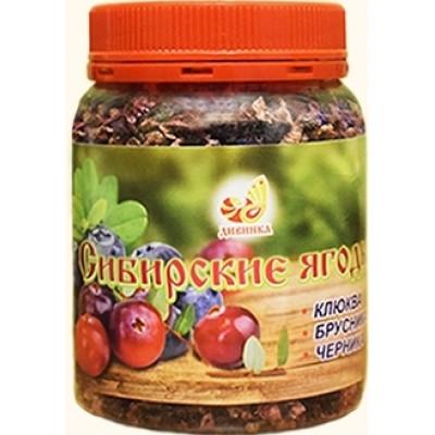 Сибирские ягоды дробленые, Дивинка, 80 г