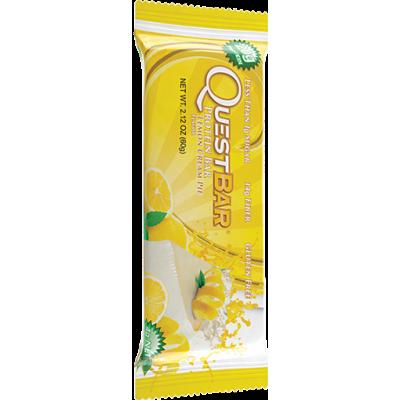 Протеиновый батончик Lemon Cream Pie Лимонный пирог, Questbar, 60 г