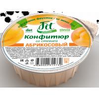 Конфитюр абрикосовый со стевией, FitDelice, 100 г