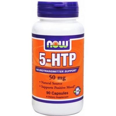 5-НТР (L-5-гидрокситриптофан), NOW, 440 мг, 90 капс.