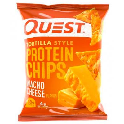 Протеиновые чипсы Nacho Tortilla, Quest Nutrition, 32 г