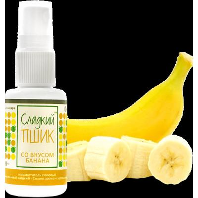 """""""Сладкий Пшик"""" подсластитель со вкусом Банана, Evolution Food, 30 мл"""