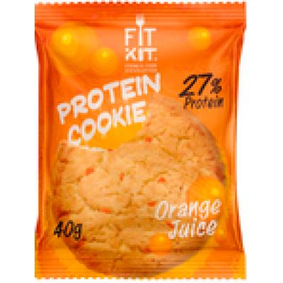 Протеиновое печенье Апельсиновый сок, FitKit, 40 г
