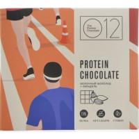 Молочный протеиновый шоколад со стевией и миндалем, О12,50 г