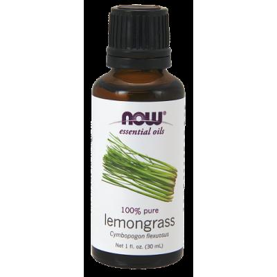 Лемонграсс (100% эфирное масло) NOW, 30 мл