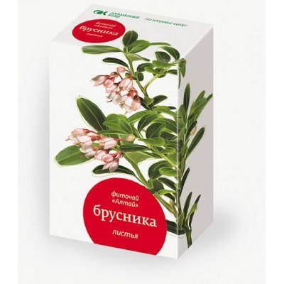 """Фито-чай """"Алтай"""" Брусника, Алтайский Кедр, 20 ф/п*1.5 г"""
