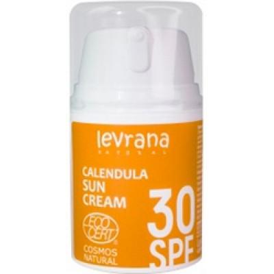 Солнцезащитный крем для тела Календула 30 SPF PINK, Levrana, 50 мл