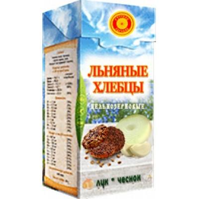 Хлебцы льняные Лук, чеснок, Тиавит, 80 г