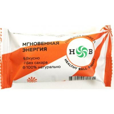 Полезные конфеты HealthyBall Energy new, Здоровая Планета, 30 г (15 г * 2 шт.)