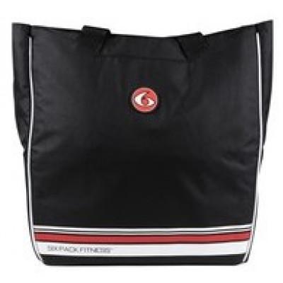 Сумка Camille Tote Black/Red (черный/красный), 6PackFitness