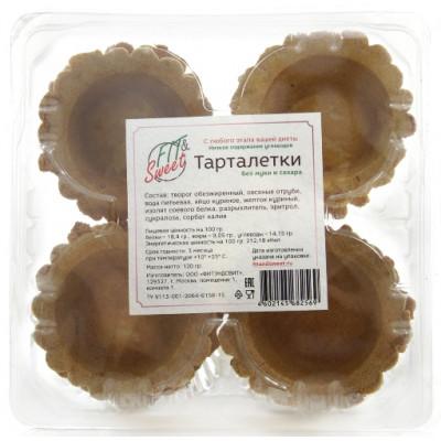 Тарталетки без муки и сахара, Fit&Sweet, 120 г