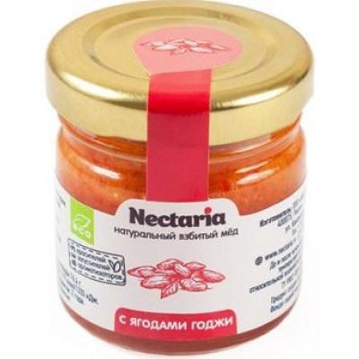 Взбитый мед с Ягодами Годжи, Nectaria, 40 г