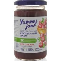 Джем клюквенный низкокалорийный, Yummy jam, 350 г