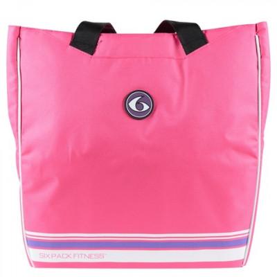 Женская сумка Camille Tote Pink/Purple (розовый/фиолетовый), 6 Pack Fitness