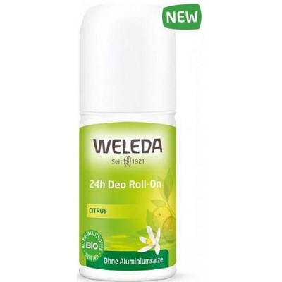 Цитрусовый дезодорант 24 часа Roll-on, Weleda, 50 мл